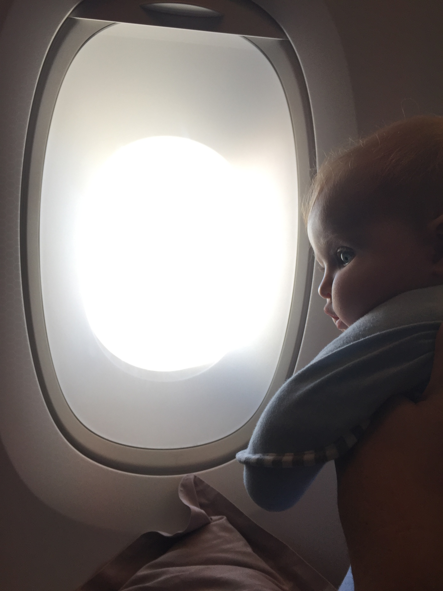 Travelling with young ones on flights